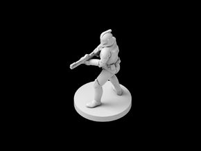 (IA) Clonetrooper Phase 1 4 in Smooth Fine Detail Plastic