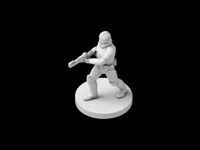 (IA) Clonetrooper Phase 2 6 in Smooth Fine Detail Plastic