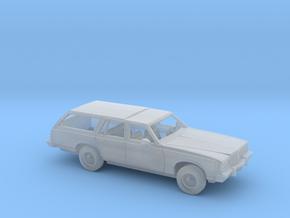 1/87 1977-79  Pontiac  Grand Safari Wagon Kit in Smooth Fine Detail Plastic