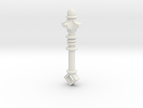 Barbarian Mace in White Natural Versatile Plastic