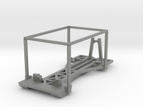 M14 Improved Boat Cradle (IBC) in Gray PA12: 1:87 - HO