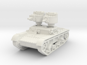 T 26 A 37mm Tank scale 1/56 in White Natural Versatile Plastic