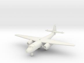 (1:144) Arado Ar 234 Jäger (Wheels down) in White Natural Versatile Plastic