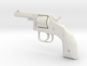 1:6 Miniature Hopkin & Allen Mfg Co 32Cal in White Natural Versatile Plastic