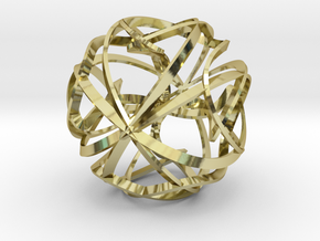 Sculpture Orbit in 18k Gold Plated Brass
