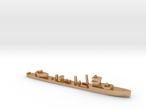 HMS Vega 1:2400 WW2 naval destroyer in Natural Bronze
