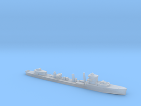 HMS Vega 1:1200 WW2 naval destroyer in Smoothest Fine Detail Plastic
