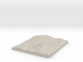 Model of Herbón in Natural Sandstone