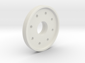 HFP-101089 Friction Plate Body in White Natural Versatile Plastic