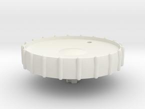 08.01.01.03.06 Elevator trim wheel Rev2 in White Natural Versatile Plastic