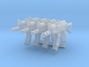 4x AKS74UBrick in Smoothest Fine Detail Plastic