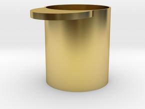 Kaffeemass 50 g Gramm in Polished Brass
