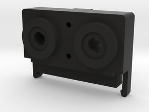Carver HTR Speaker Terminal Block in Black Natural Versatile Plastic