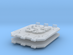 Griphon Jericho tank doors in Smooth Fine Detail Plastic