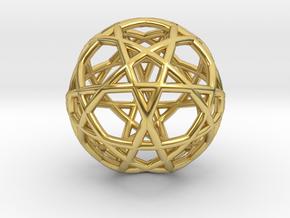 Gen Water 10D Relativity Core in Polished Brass