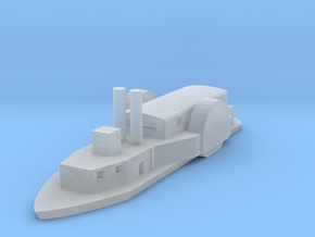1/1200 USS/CSS Queen of the West in Smooth Fine Detail Plastic