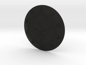 G2 Overlord Makuta Shield in Black Natural Versatile Plastic