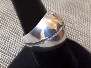 CA Dreamin' Ring - Size 9 (18.95 mm) in Polished Silver