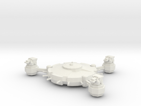Orbital Defence Platform - Heavy Battery  in White Natural Versatile Plastic