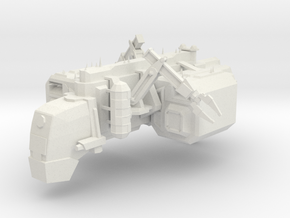 Navy Constructor in White Natural Versatile Plastic