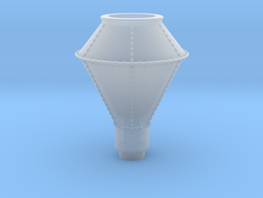 (NEW) CK Holliday - Smoke Stack HO in Smooth Fine Detail Plastic