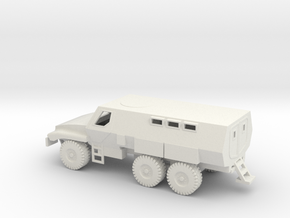 1/72 Scale Caiman 6x6 BAE Systems MRAP in White Natural Versatile Plastic