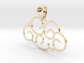 Cloudy in 14K Yellow Gold
