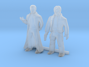 HO Scale Male Robbers in Smooth Fine Detail Plastic