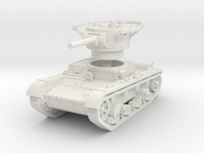 T 26 B Radio Tank 1/100 in White Natural Versatile Plastic