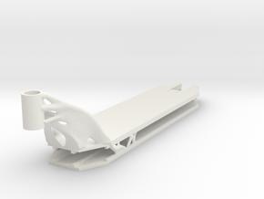 Decks 3 in White Natural Versatile Plastic