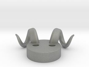 Horns in Gray Professional Plastic: Large
