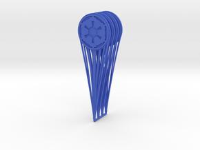 (Legion) 4x CP Hologram Empire in Blue Processed Versatile Plastic