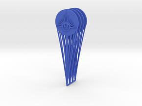 (Legion) 4x CP Hologram New Republic in Blue Processed Versatile Plastic