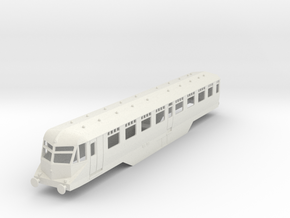 0-76-gwr-railcar-35-37-1a in White Natural Versatile Plastic