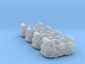 Groovy Bus 4 PackM in Smooth Fine Detail Plastic