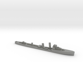 HMS Wessex 1:3000 WW2 naval destroyer in Gray PA12