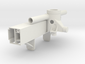 Base-rotating-support-legs in White Natural Versatile Plastic