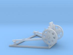 1/56 IJA Type 92 70mm Howitzer in Smooth Fine Detail Plastic