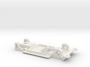 Carrera Universal 132 Chassis for BMW 320 E21 in White Natural Versatile Plastic