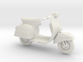 Printle Thing Vespa 01 - 1/24 in White Natural Versatile Plastic