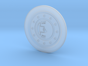 UH-1 Vario Fuel Cap 1/6 in Smooth Fine Detail Plastic