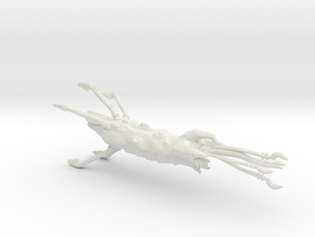Hive Ship - Concept C in White Natural Versatile Plastic