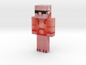 Pig2001 | Minecraft toy in Natural Full Color Sandstone