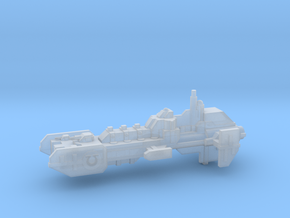 Frigate - Concept A  in Smooth Fine Detail Plastic