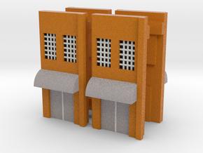 Factory Doors - Z scale in Full Color Sandstone