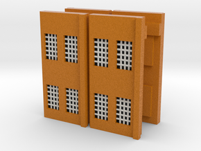 Factory Walls - Z scale in Full Color Sandstone