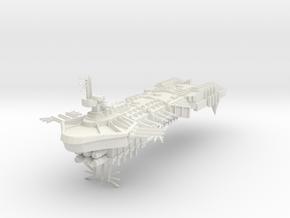 Despoiler Class Capital Ship - Concept Alternative in White Natural Versatile Plastic