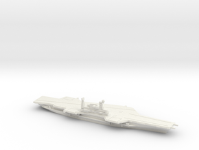USS Midway (CV-41) (Final Layout), 1/1800 in White Natural Versatile Plastic