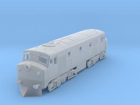 b-160fs-ceylon-m1-diesel-loco1 in Smooth Fine Detail Plastic