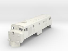 b-100-ceylon-m1-diesel-loco in White Natural Versatile Plastic